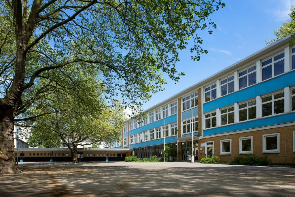 Schulhof Petrischule